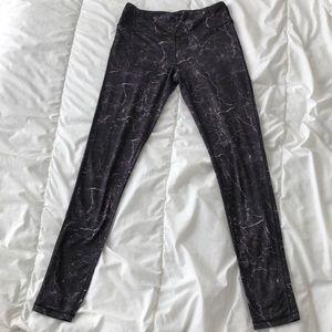 Mono B size small purple & black marbled pant